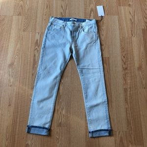 7 for all mankind Relaxed Skinny Jean light 25